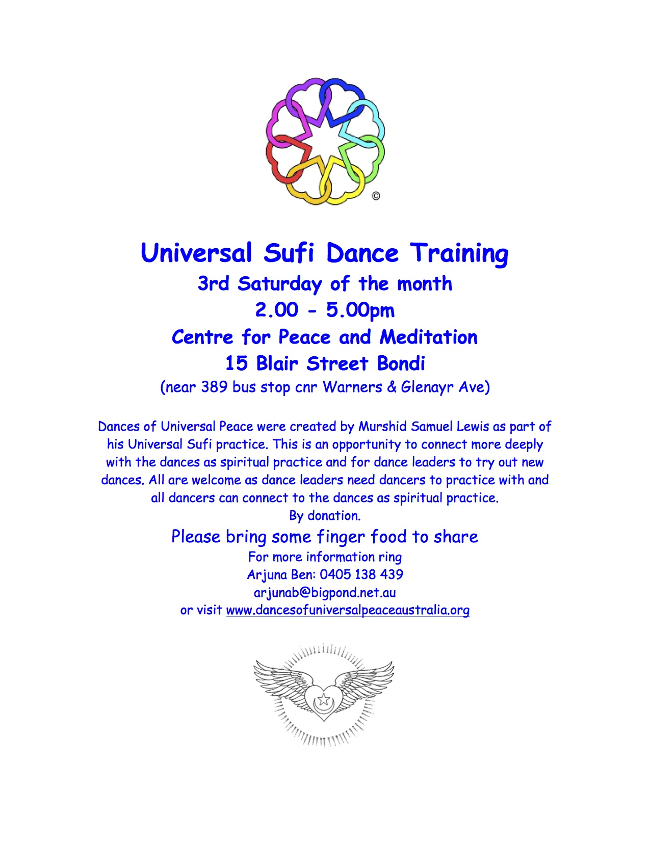 Dance Training Flyer JPEG